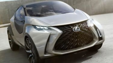 Lexus LF-SA city car leaked pics