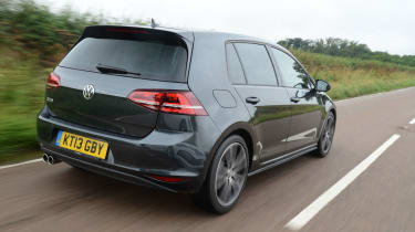 As with the standard Golf, the GTD is available as a roomy estate model.