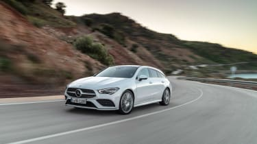Mercedes CLA Shooting Brake - front action