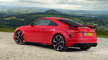 Audi TT RS -  rear static