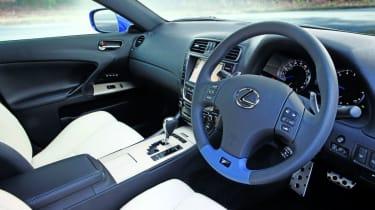Lexus IS F updated interior