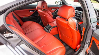 BMW M6 Gran Coupe - rear seats