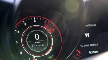 Aston Martin DBS Superleggera Volante - dials