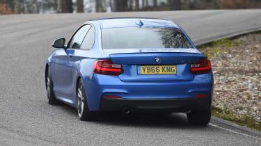 BMW M240i Coupé long term review - rear