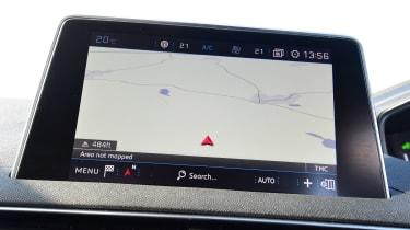 Peugeot 5008 - sat-nav