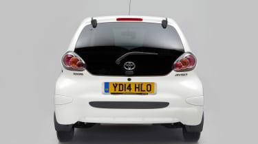 Used Toyota Aygo - full rear