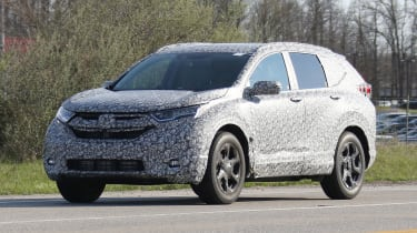 New Honda CR-V - spy shots - front/side