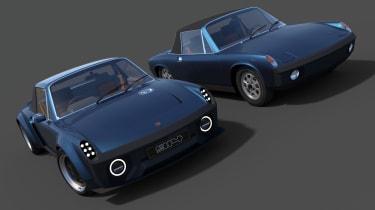 Porsche 914 reimagined - front