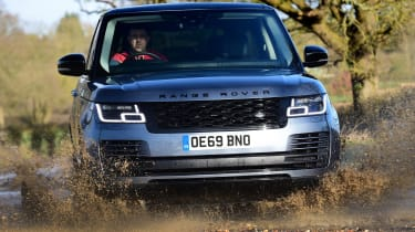 Range Rover P400 - big splash