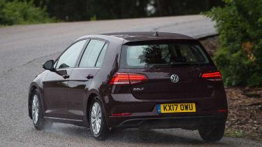 Volkswagen Golf 1.0 petrol - rear