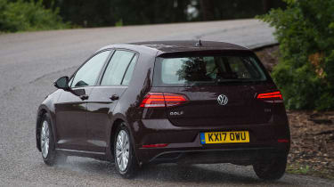 Volkswagen Golf 1.0 petrol - rear