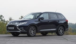 Used Mitsubishi Outlander - front