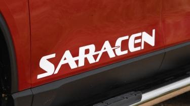 SsangYong Musso long term review - saracen decal