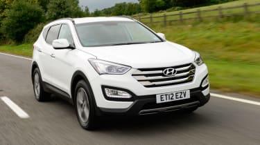 Hyundai Santa Fe front tracking