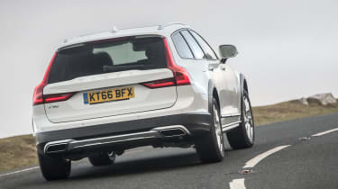 Volvo V90 Cross Country 2017 UK - rear cornering