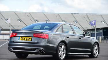 Audi A6 rear 3/4