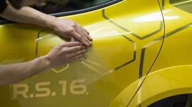Renault Clio RenaultSport R.S.16 official - vinyl 2