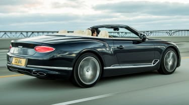 Bentley Continental GT V8 - convertible rear tracking