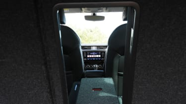 Skoda Octavia Estate - view from boot