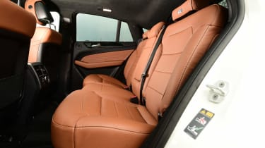 Mercedes GLE Coupe 2015 rear seats