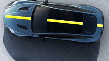Aston Martin AMR brand - Rapide overhead