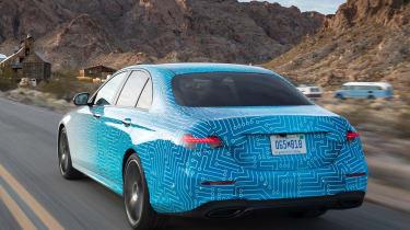 2020 Mercedes E-Class - Las Vegas rear