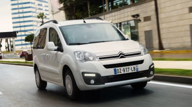 Citroen E-Berlingo Multispace - front action