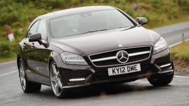 Mercedes CLS 500 front
