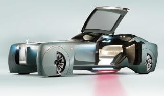 Rolls-Royce Vision Next 100 - door open