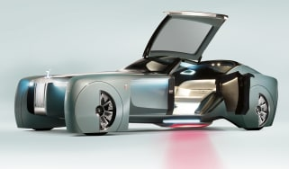 Rolls-Royce Vision Next 100 - door open
