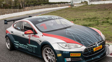Tesla Electric GT championship car