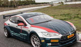 Tesla Electric GT championship car