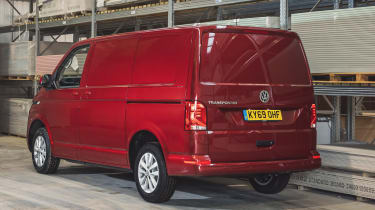 Volkswagen Transporter 6.1 - rear 3/4 static