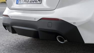 BMW 220i - exhausts