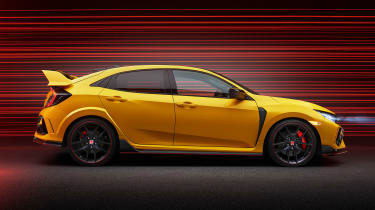 Honda Civic Type R Limited Edition - side