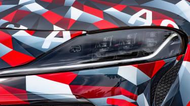 Toyota Supra prototype - front light