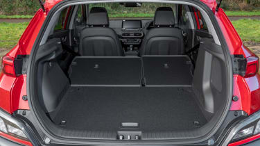 New Hyundai Kona Hybrid 2021 review - boot