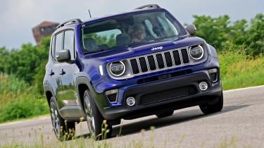 Jeep Renegade - front cornering
