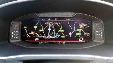 SEAT Tarraco - virtual dials