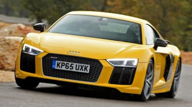 Best supercars - Audi R8 V10 Plus