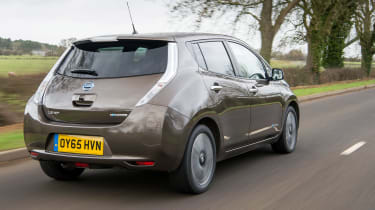 Nissan Leaf 60kWh - rear