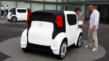 Citroen AMI ONE concept - white rear