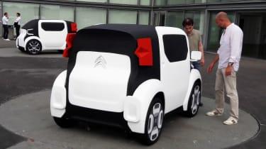 Citroen AMI ONE concept - white rear