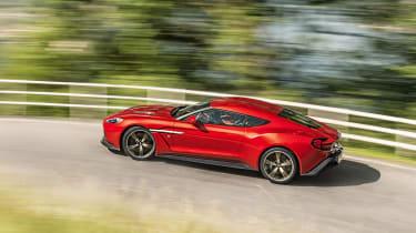 Aston Martin Vanquish Zagato - side cornering