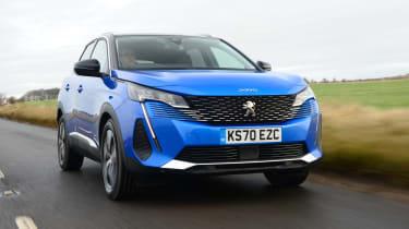 New Peugeot 3008 facelift 2020