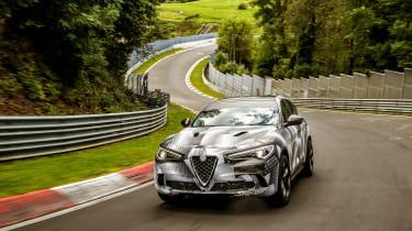 Alfa Romeo Stelvio Nurburgring 2