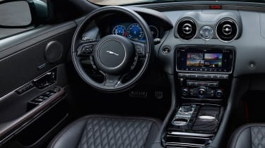 2017 Jaguar XJ facelift - interior