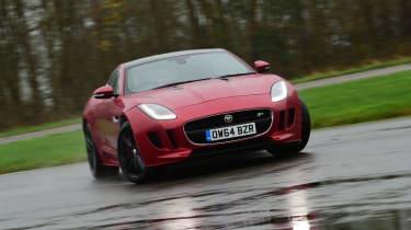Jaguar F-Type R  cornering