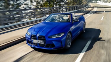 BMW M4 Competition Convertible - front action
