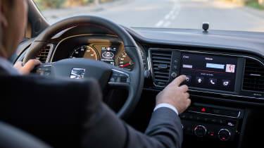 SEAT Leon Cristobal - driving